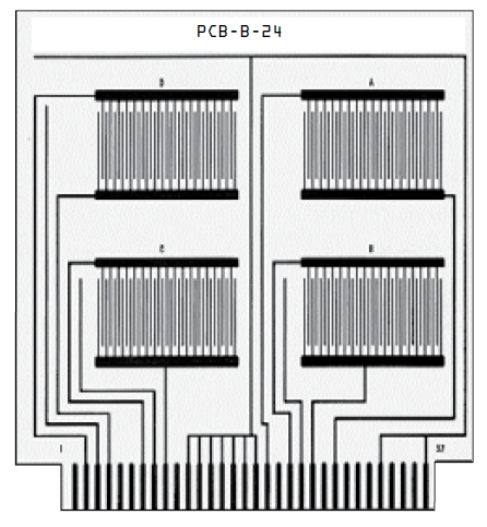 PCB-B-24 IPC Standard Test Board