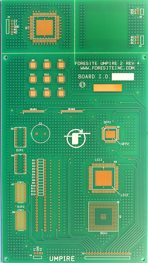 PC051 Foresite Umpire Test Board