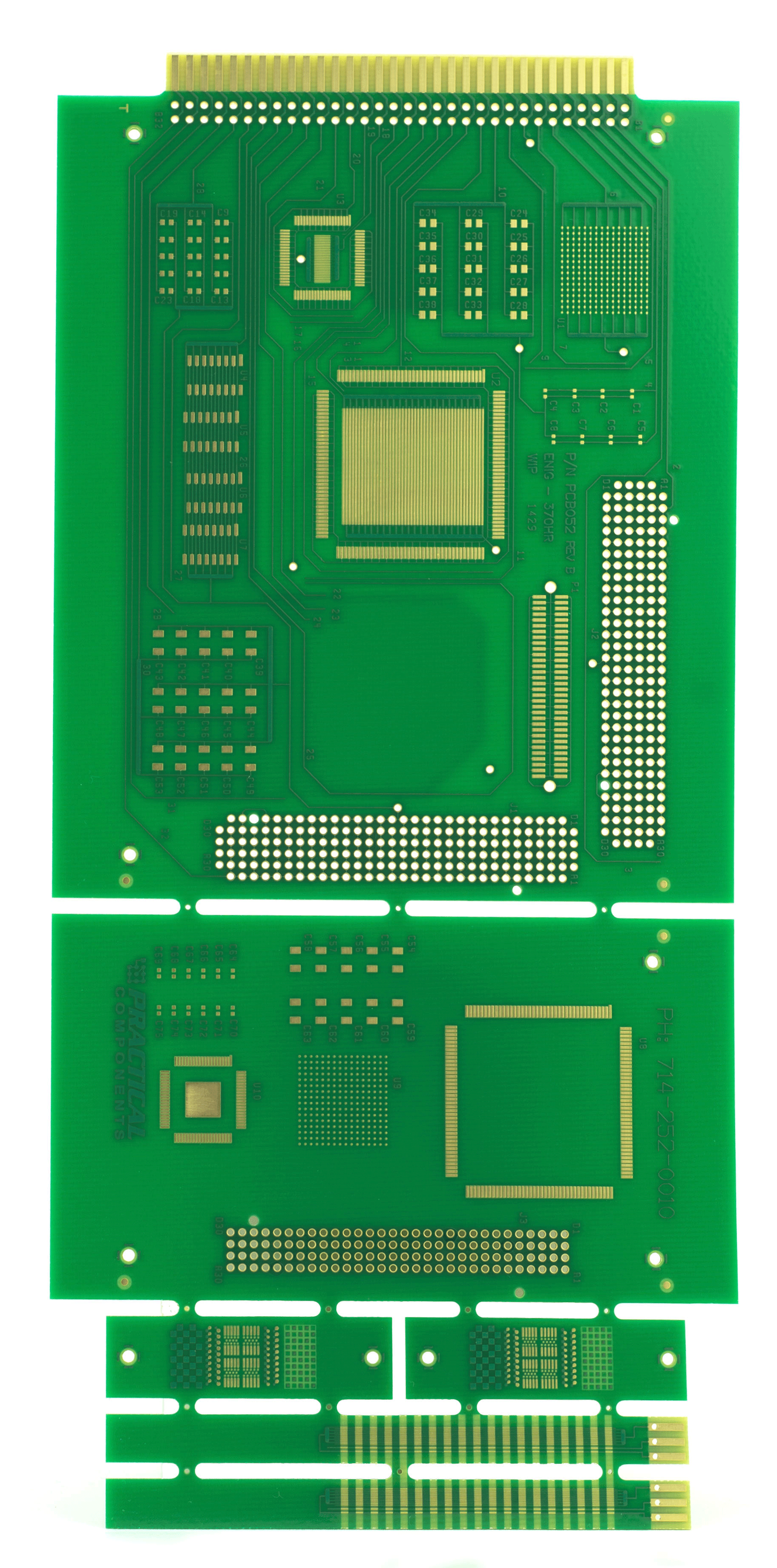 Pcb Test Vehicles For Cleaning And Conformal Coating Of Contaminants Circuit Board B 52 Cret Rev Cleanliness Residue Evaluation Kit