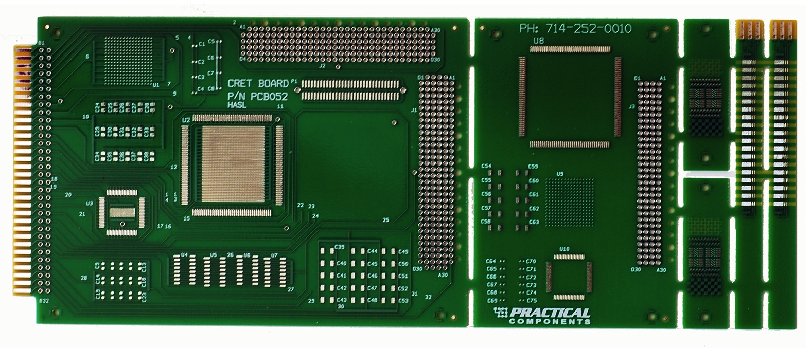 Test Boards for Cleanliness and Conformal Coating