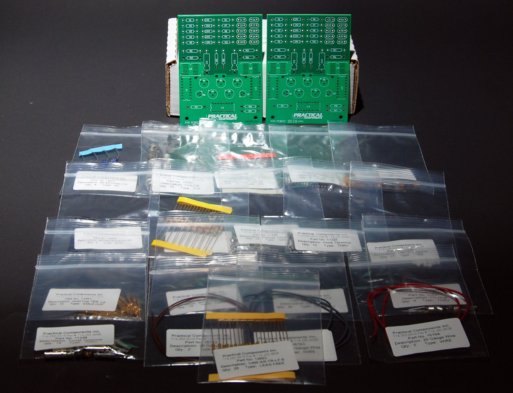 PC013-Through-Hole-Solder Training Kits