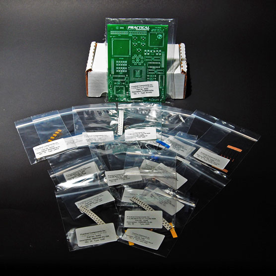 PC009-Mixed Technology-Solder Training-Board and Kit